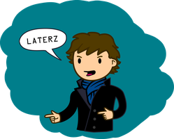 'LATERZ' Sherlock Vector by TurboSolid