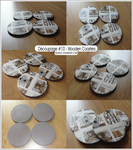 Decoupage 10 - Wooden Coasters by Nexaa21