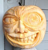 Pumpkin Sculpting 2012 by Caustic-humor