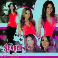 Victoria Justice Blend by CoolSabry