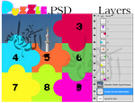 Puzzle in PSD File by UAEminded