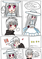 Supato and Catherine fan strip by Selinawen