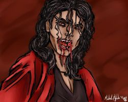 Vampire Michael Jackson by DoubleM