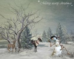 Merry scary christmas by simoner