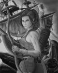 Lara Croft (Tomb Raider 2013) Sketch by JBasco15