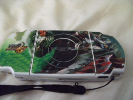 PSP Skin-MHP2ndG Back by KZ-KW