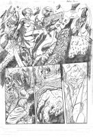 Guardians of the Galaxy sample page#4 pencils by xavor85