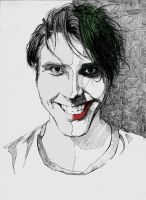 SmilexVillainco portrait - Joker by Aquila--Audax