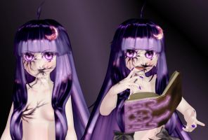 Touhou-Mania Patchouli - Sneak Peak by Primantis