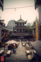 yangshuo 'city' center by donnosch
