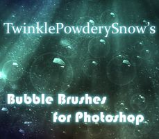 Bubble Brushes by TwinklePowderySnow
