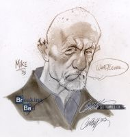 Mike from Breaking Bad by J-Scott-Campbell