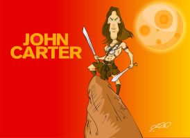 john carter by superhilalo