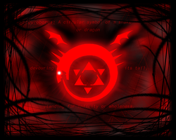 FMA Wallpaper: Ouroboros by ManiacTHP