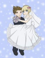 Happy Wedding: LloydxColette by ChibiRed