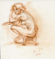 FigureDrawing- The Female FIgure by hakepe