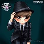 Leeteuk chibi [FANART] I Can See Your Voice 2 by AddyBarabashkaLee