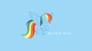 Rainbow, pure and simple by littlexander