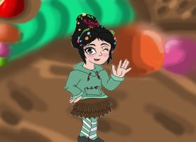 Hi there - Vanellope by Agi6