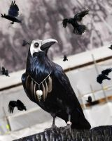 Portrait of the Damned_Plague Birds by KYghost
