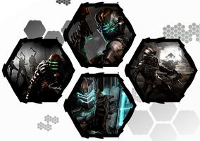 Dead Space 1 and 2 by WE4PONX