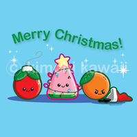 Christmas Fruit: Gift by kimchikawaii