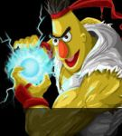 Sesame Street Fighter - Ha-a-a-a-a-doken by gavacho13