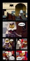 Unexpected visitor LEGO ACII by Mou-Deviant
