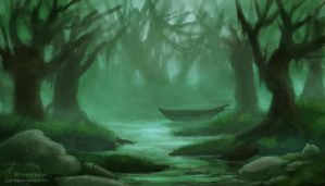 Weekly Environment 01 - Swamp by Elucidator