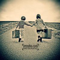 The road of vacation by cetrobo