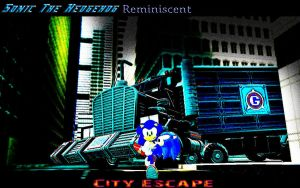 Sonic The Hedgehog Reminiscent City Escape 2 by shadow759