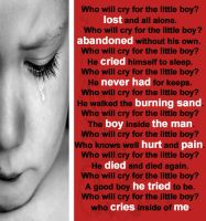 Who will Cry for The Lil Boy by mascara84