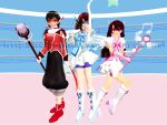 MMD Heart Shooters by Heleannor