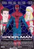 The Amazing Spider-Man Fan Poster - 2011 by andrecamilo20