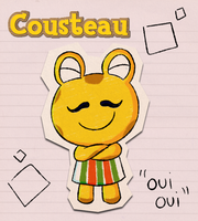 AC Scribbles: Cousteau by Candy-Swirl