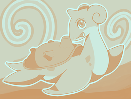100 Palette Challenge - Lapras by CrystalTheLuxio
