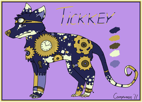 New Ref: Tickkey by Kitsumon