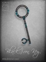 Black Iron Key by Rittik