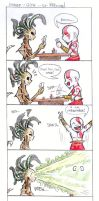 Poker--God of War by cherrypie7