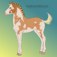Antler Nordanner Design foal by Sorrel-Feather
