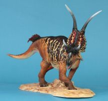 Diabloceratops head on by arcadian7