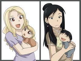 Motherhood by kasuria