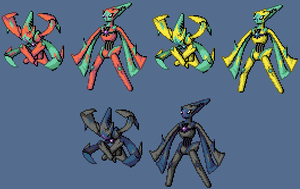 Deoxys Ultima form sprites by xXlSalimuslXx