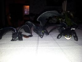 Three Night Fury's for Christmas! by Super3dcow