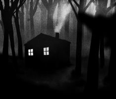 Silent wood cabin by agentfox