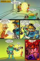 Scourge Eternal Blackout: Issue 2 pg 6 by 5courgesbestbuddy