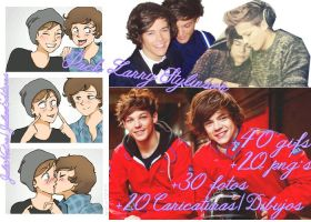 Larry Stylinson Pack by JulieeEditions