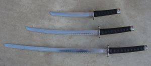 Kat Stock 315 -Japanese Swords by Kaitrosebd-Stock