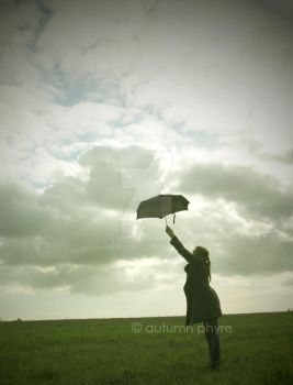 Umbrella Dance: Puncture the clouds by AutumnPhyre