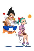 DBZ_funny luv by Aznara